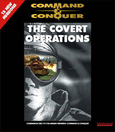 Command & Conquer: The Covert Operations Boxart