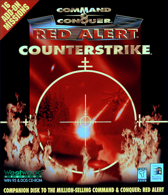 Command & Conquer: Red Alert: Counterstrike Boxart