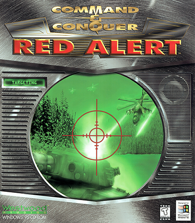 Command & Conquer: Red Alert North American Boxart