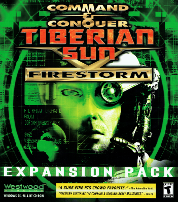 Command & Conquer: Tiberian Sun: Firestorm Boxart