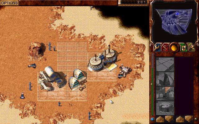 Atreides protecting mining base