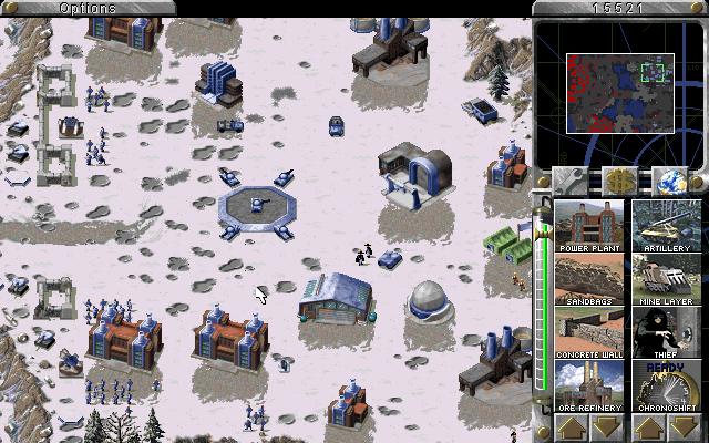 Allies' base