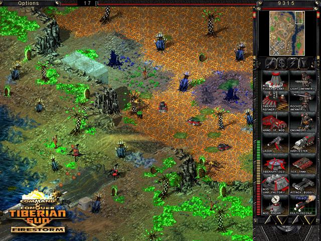 Tiberium infested area