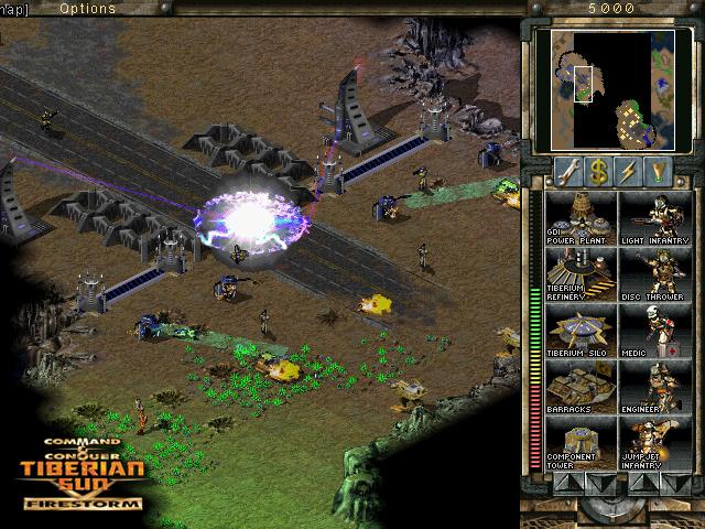 GDI attacking CABAL base