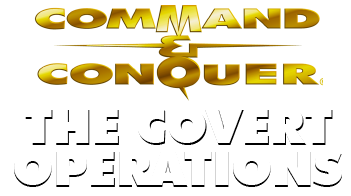 Command & Conquer: The Covert Operations, a mission disc expansion Logo
