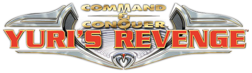 Command & Conquer: Red Alert 2: Yuri's Revenge, an expansion pack Logo