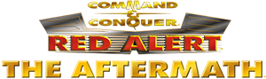 Command & Conquer: Red Alert: The Aftermath, an expansion pack Logo