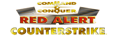Command & Conquer: Red Alert: Counterstrike, a mission disc expansion pack Logo