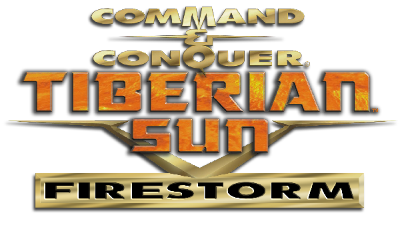 Command & Conquer: Tiberian Sun: Firestorm, an expansion pack Logo